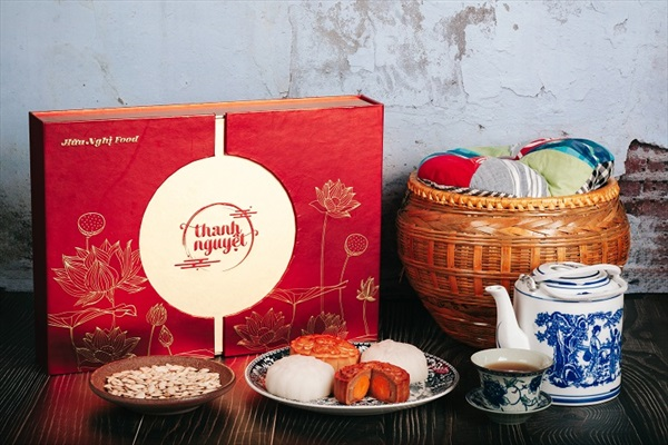 Hộp Quà Sang Trọng – Bánh Trung Thu - Thanh Nguyệt Trường Phát