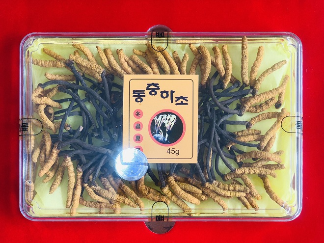 Đông trùng hạ thảo nguyên con Hàn Quốc 45gr