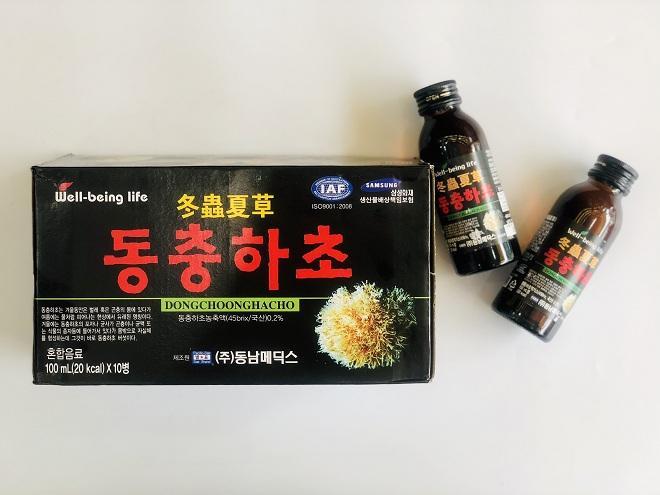 Nước Đông trùng Hạ thảo Hàn Quốc Well-bejing life