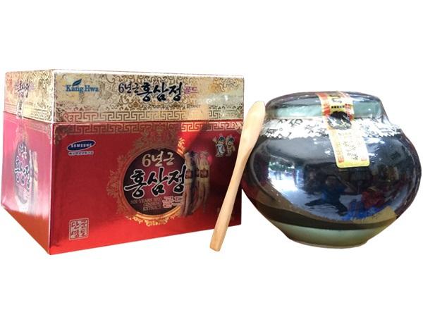 Quà tặng sang trọng Cao Hồng Sâm Hàn Quốc hũ sứ 1kg