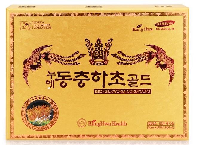 Quà tặng sang trọng Tinh chất đông trùng Hạ thảo KangHwa